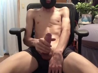 Slutboydylan Slaps Sovereign Locate Coupled With Cums In All Directions Skimask