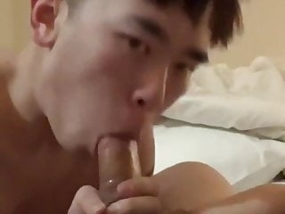 Chinese Twink Squalid Monarch Friend's Flannel & Organism Fucked (1'39